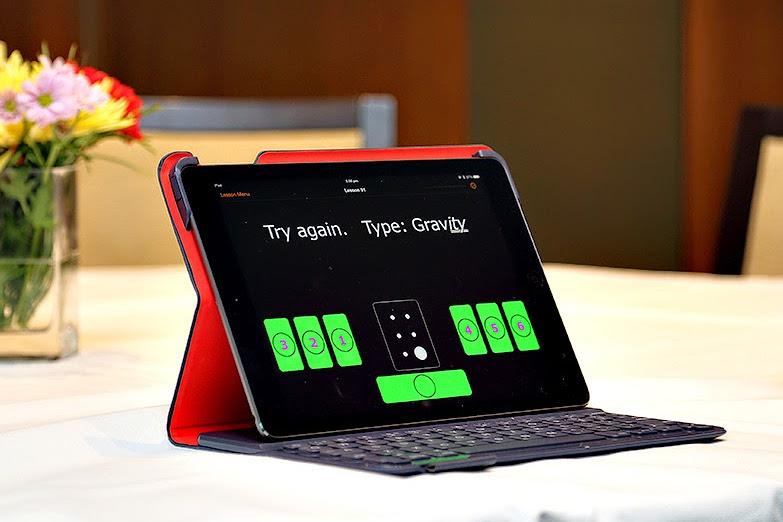 Braille Tutor on iPad